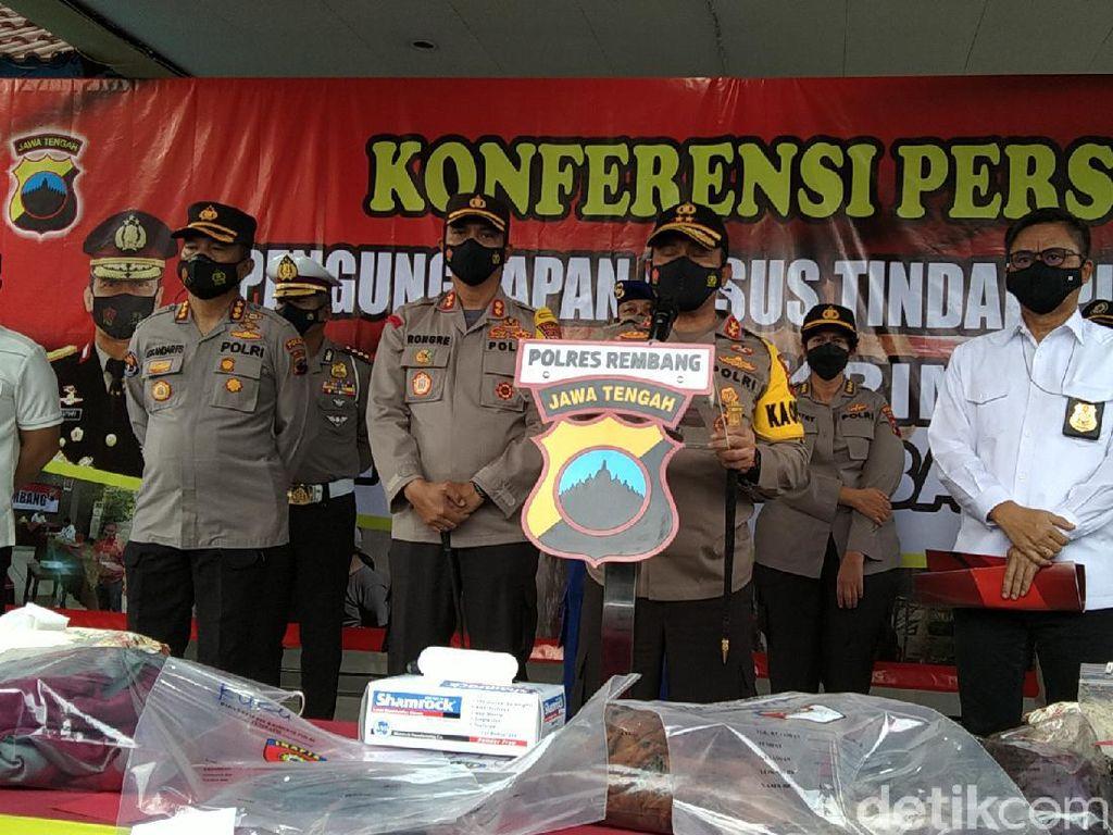 Kapolda Jateng: Pembunuh 4 Orang Sekeluarga di Rembang Pelaku Tunggal