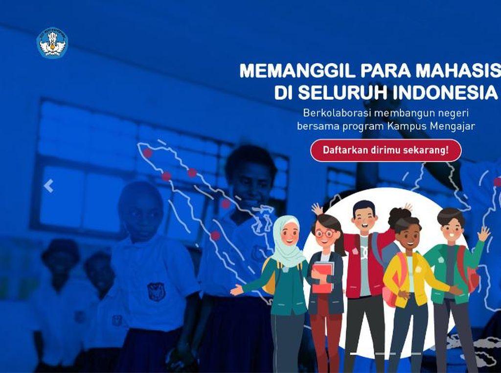 Program Kampus Mengajar 2021 Dibuka, Cek Cara Mendaftar dan Insentifnya