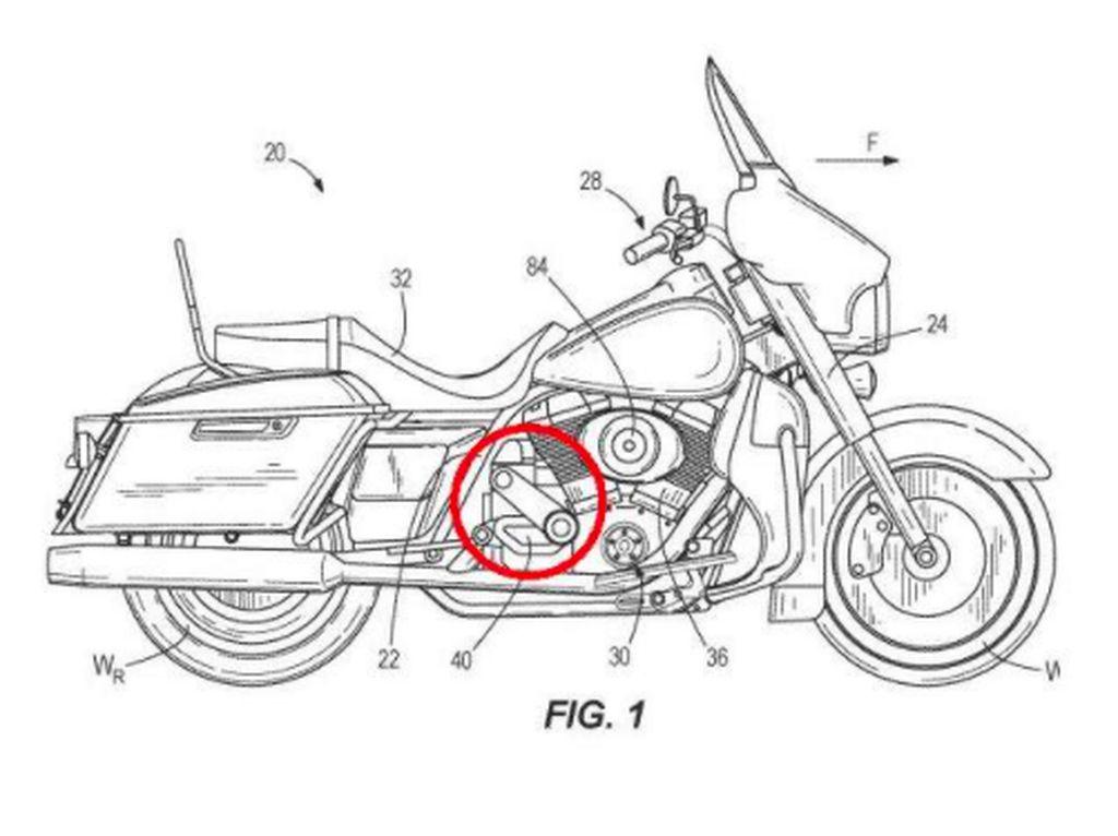 Makin Blarrr, Harley-Davidson Patenkan Mesin V-Twin Supercharged
