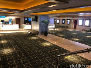 Jelang Long Weekend, Suasana Bioskop di Jakarta Sepi Banget!