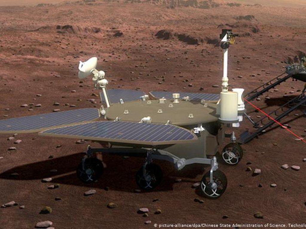 Tianwen-1 Sukses Mengorbit, China Siap Ungkap Kondisi Bawah Permukaan Mars