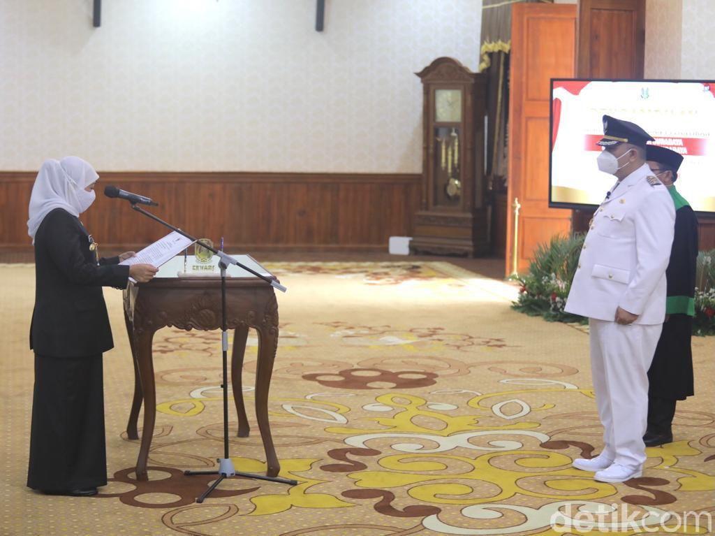 Ini Harapan Whisnu Sakti Buana Usai Dilantik Wali Kota Surabaya Definitif