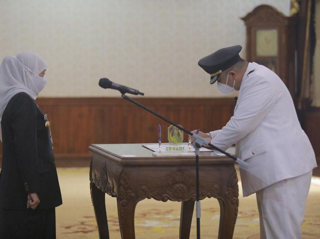 Whisnu Sakti Dilantik Wali Kota, PDIP: Pasti Berikan yang Terbaik untuk Surabaya