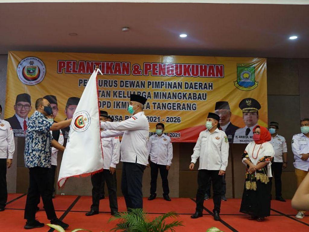 Andre Rosiade Wakili DPP IKM Kukuhkan DPD IKM Kota Tangerang