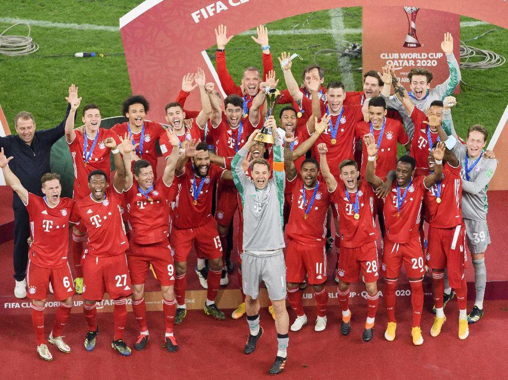 Samai Rekor Barcelona, Bayern Munich Mampu Raih Sextuple!