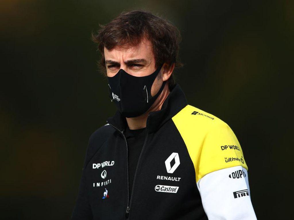 Fernando Alonso Kecelakaan, Ditabrak Mobil Saat Bersepeda
