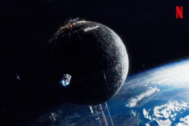 Film Space Sweeper berkisah tentang kehidupan manusia di UTS Space.