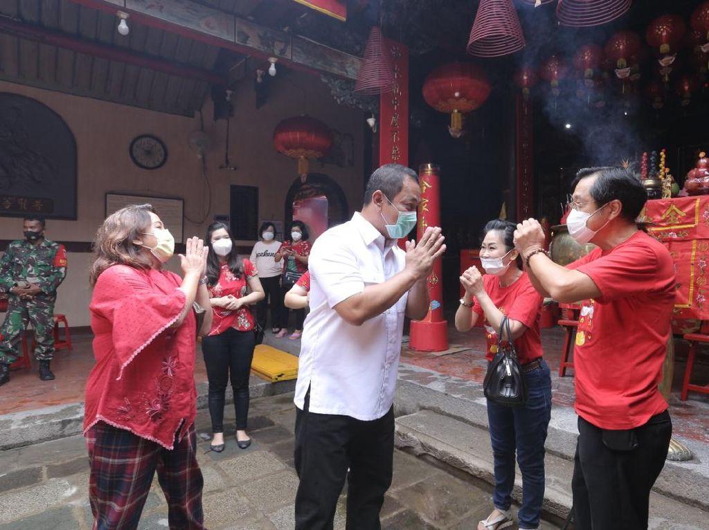 Wali Kota Semarang Apresiasi Perayaan Imlek Sederhana & Taat Prokes
