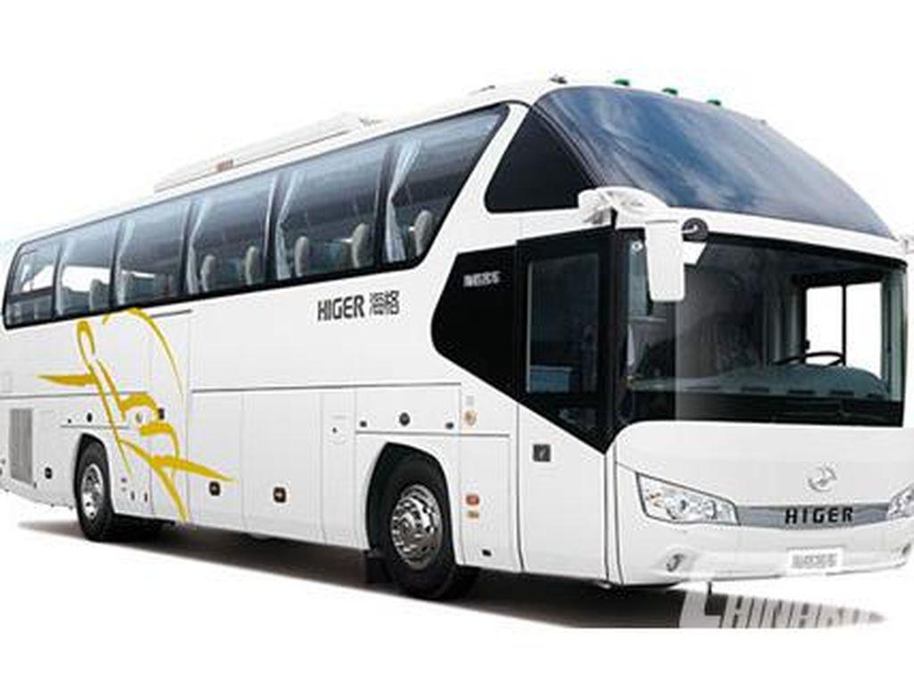 Potret Bus-bus Mewah Buatan China