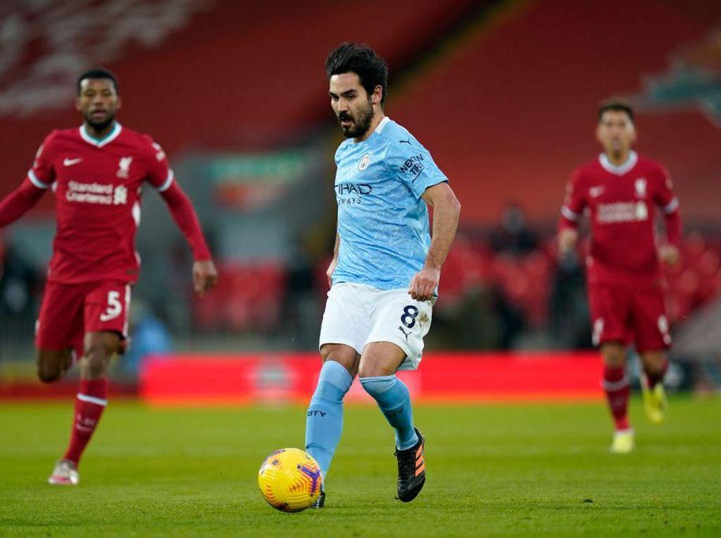 Ilkay Guendogan Pemain Terbaik Liga Inggris Bulan Januari