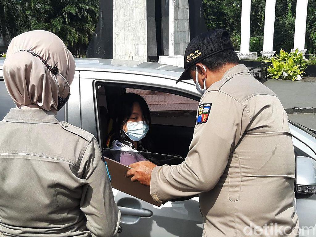 Langgar Ganjil Genap Kota Bogor, Puluhan Pengendara Didenda