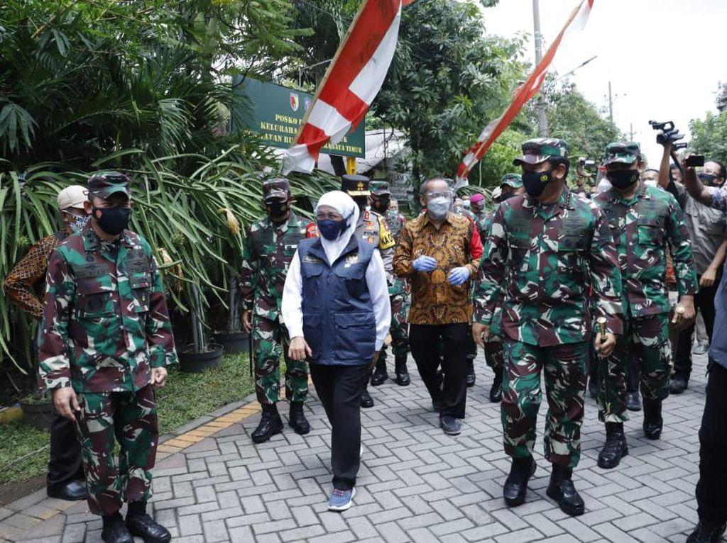 210 RT di Jatim Zona Merah, Panglima TNI: Bombardir dengan Pelacakan-Isolasi