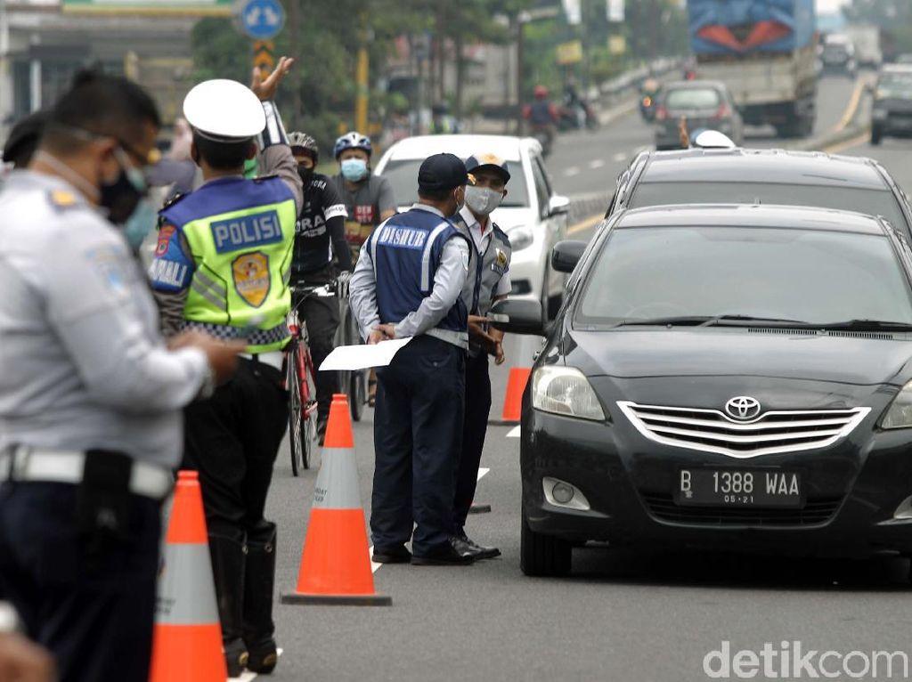 Potret Penyekatan di Perbatasan Yogyakarta