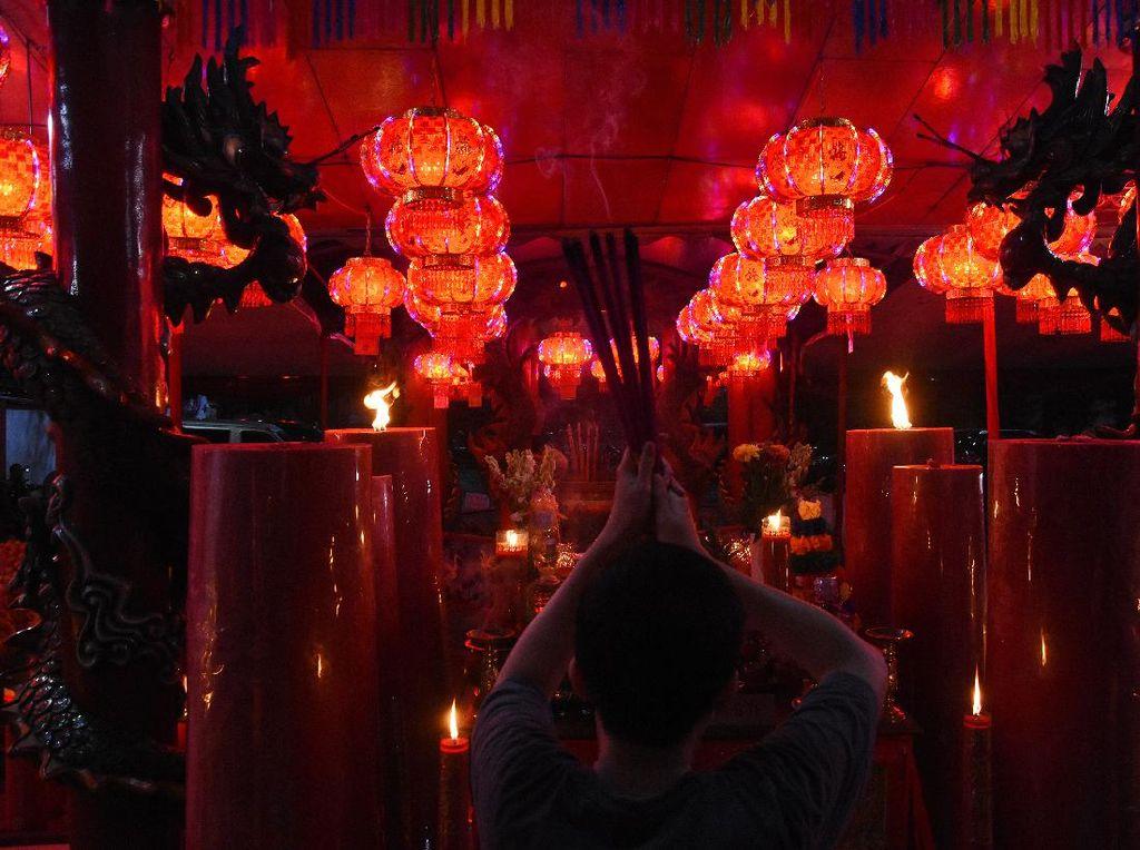 Pesan Sri Mulyani, Sandi Uno hingga Ahok di Tahun Baru Imlek