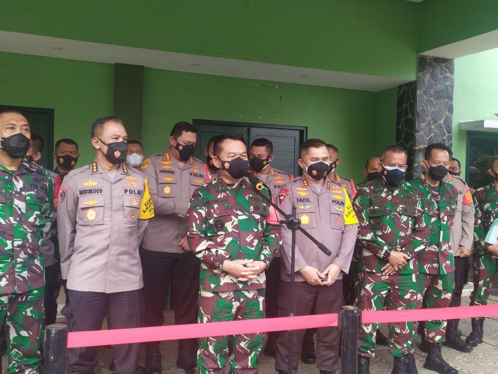 Pangdam Jaya-Kapolda Rakor PPKM Mikro, Siap Bantu Tracing COVID-19