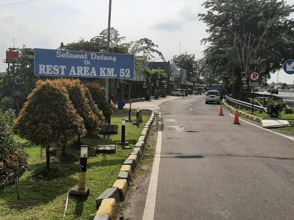 Cegah Penumpukan Arus Balik, Rest Area KM 52B Tol Japek Ditutup Lusa