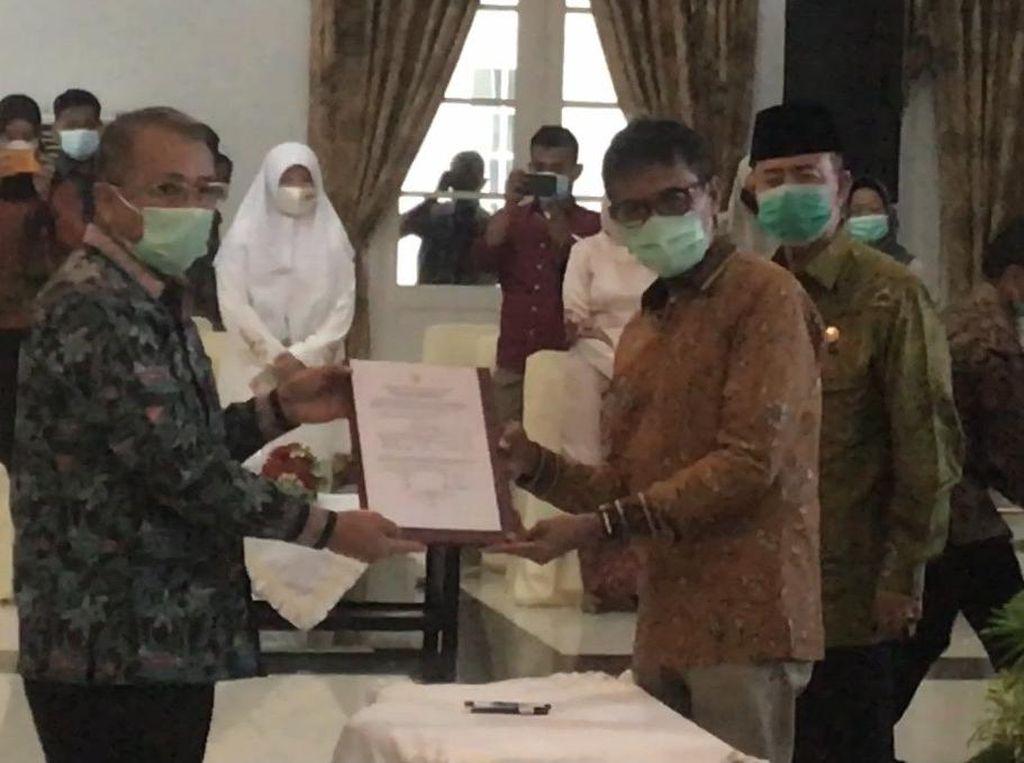 Masa Jabatan Irwan Prayitno Berakhir, Sekda Resmi Jadi Plh Gubernur Sumbar