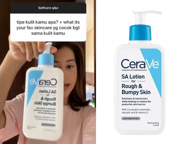 Skincare Sandrinna Michelle: Cerave SA Lotion for Rough and Bumpy Skin