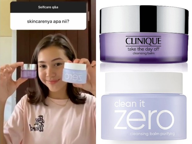 Skincare Sandrinna Michelle: Clinique Take The Day Off Cleansing Balm dan Banila Co. Clean it Zero Cleansing Balm
