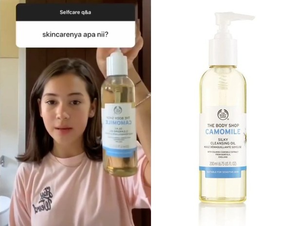 Skincare Sandrinna Michelle: The Body Shop Camomile Silky Cleansing Oil