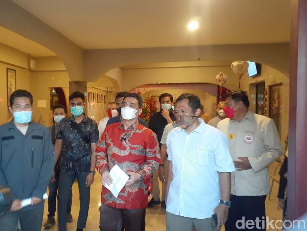 Kunjungi Vihara Lalitavistara, Wagub DKI Berterima Kasih Terapkan Prokes