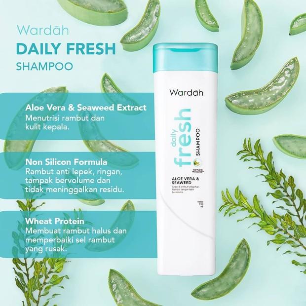 Wardah Daily Fresh Shampo/Sumber:instagram.com/wardahbeauty/