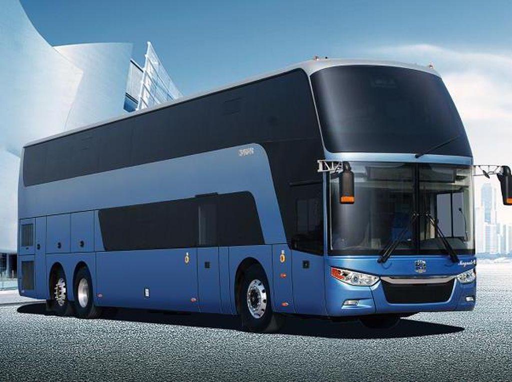 Intip Deretan Produk Bus China yang Mewah dan Elegan