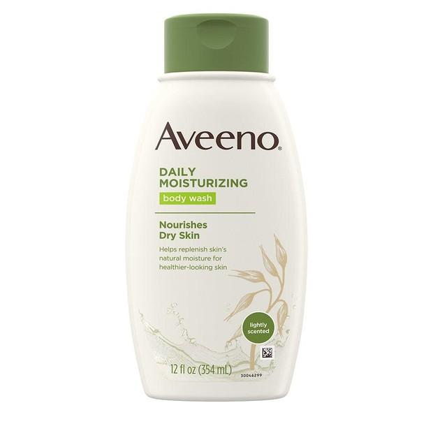 Aveeno Daily Moisturizing Body Wash.