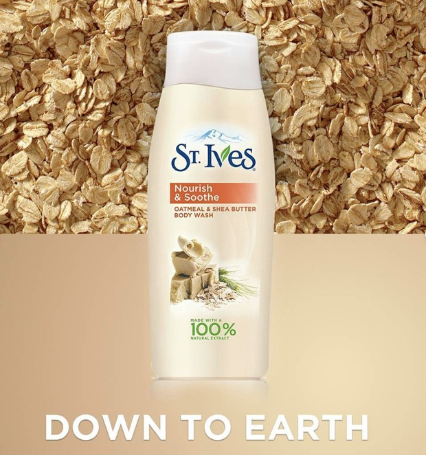St. Ives Oatmeal and Shea Butter.