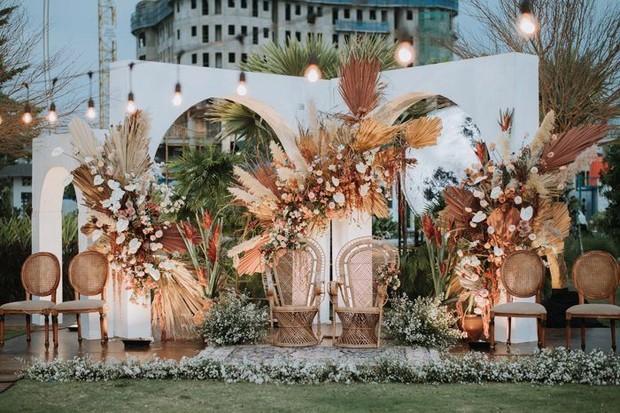 Foto: Simpel Rustic Wedding Decoration/pinterest.com/Hollie Freeland