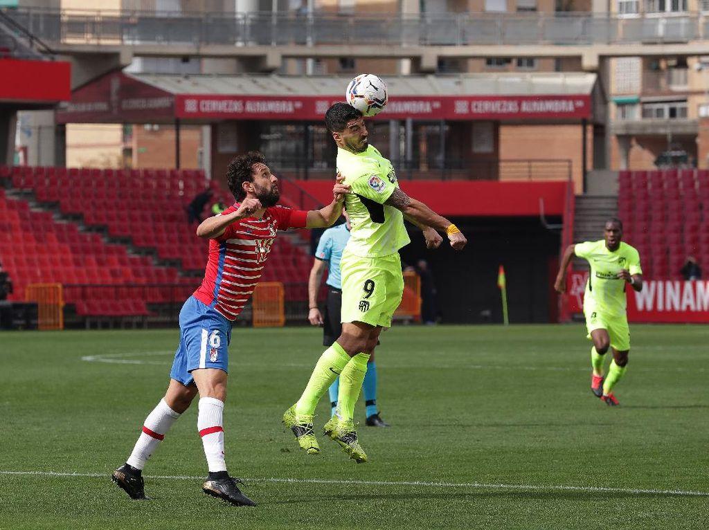 Granada Vs Atletico: Los Rojiblancos Menang 2-1