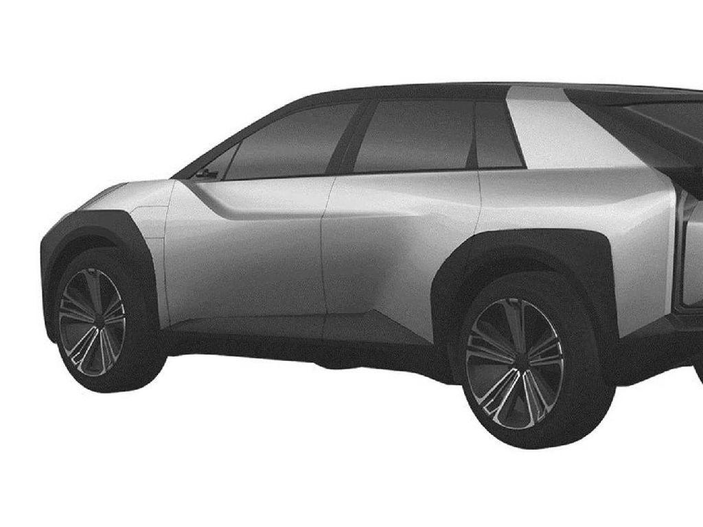 Inikah Tampilan SUV Listrik Toyota?