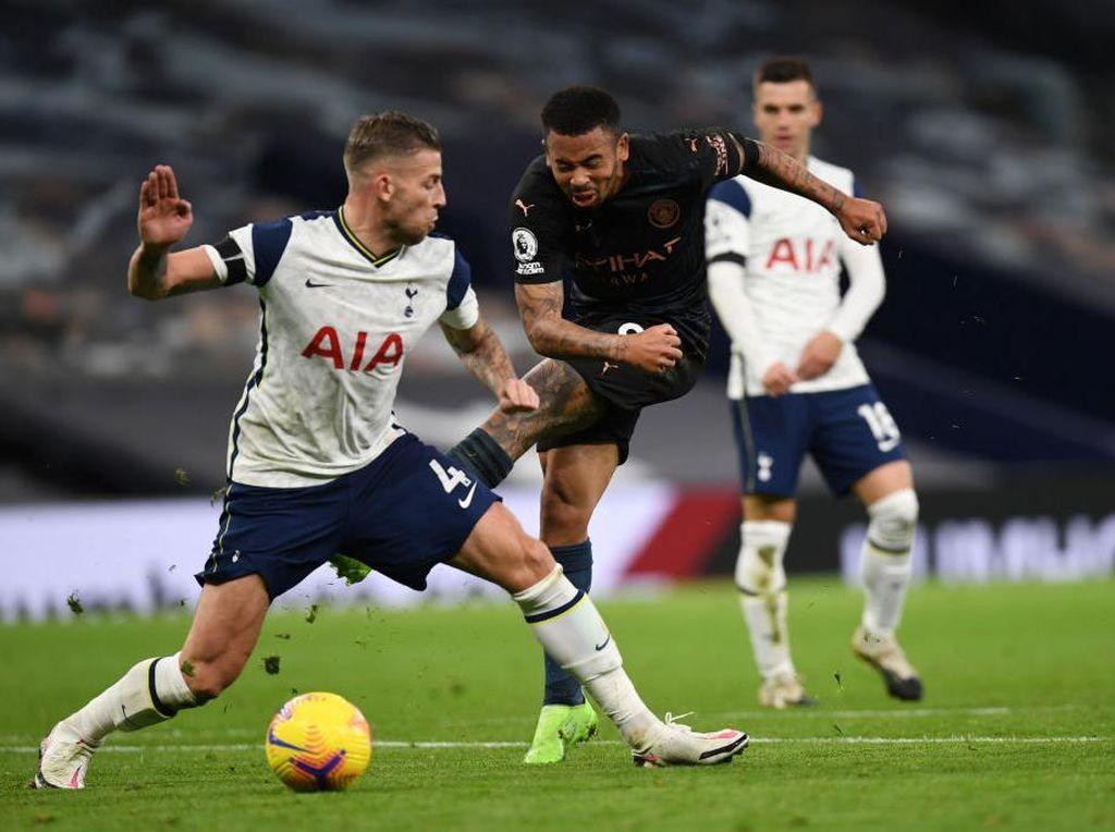 Link Live Streaming Tottenham vs Man City di Liga Inggris Malam Ini