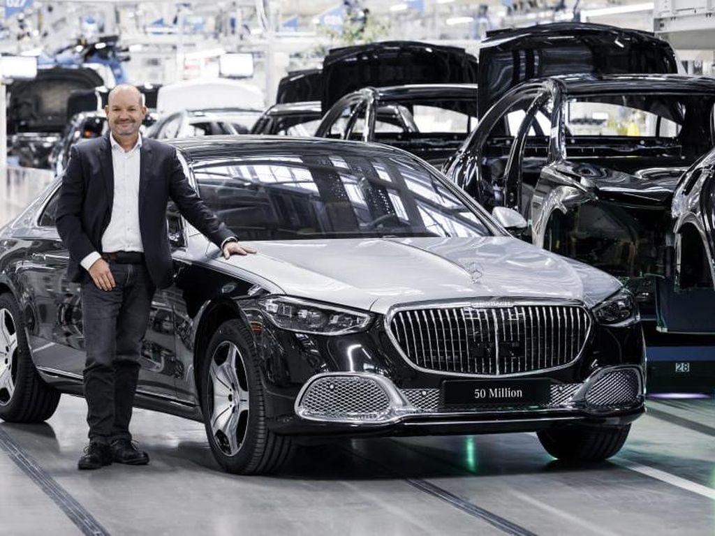 Mercedes-Benz Produksi Mobil Ke-50 Juta