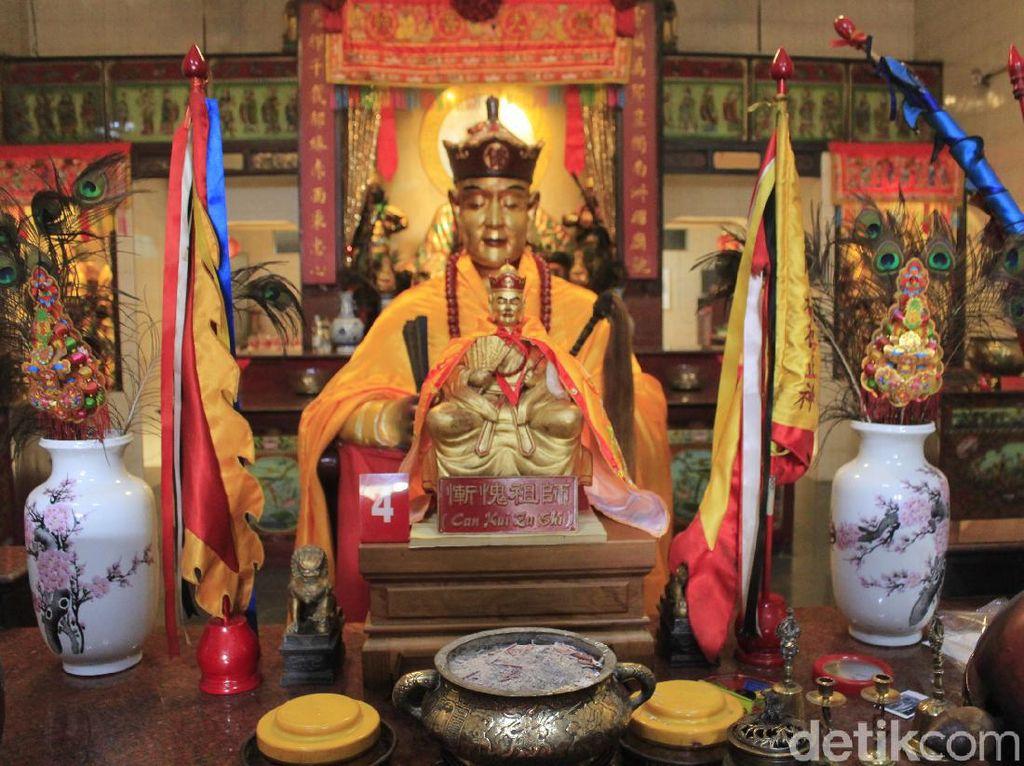 Kisah Tangan Hitam Can Kui Zu Shi di Vihara Dharma Ramsi