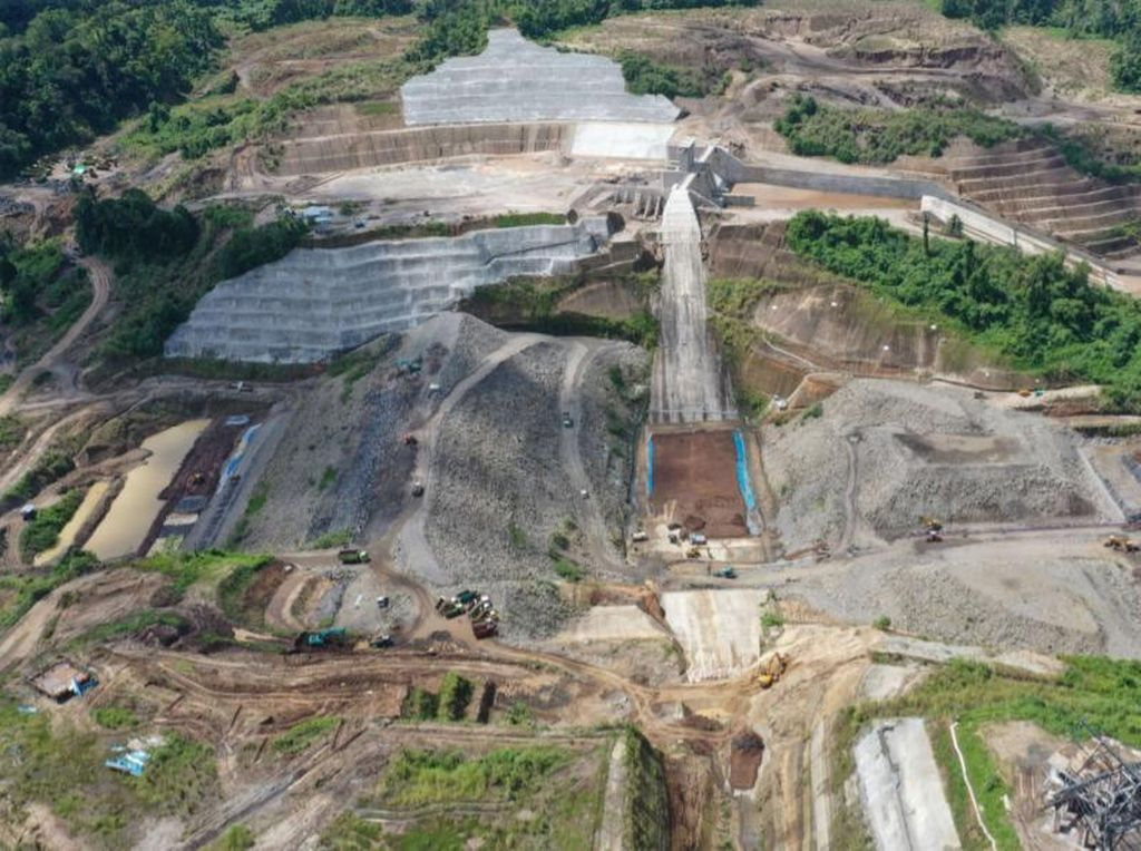 Progres Terkini Pembangunan Bendungan Kuwil Kawangkoan