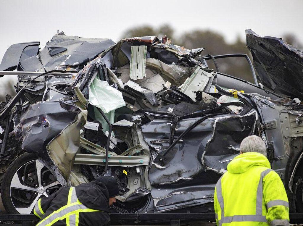 Kecelakaan Horor, 130 Mobil Terlibat Tabrakan Beruntun di Texas