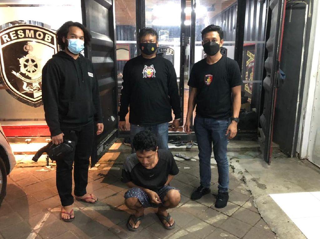 Tikam Polisi karena Tak Terima Ditegur Bonceng Tiga, Usman Dicokok