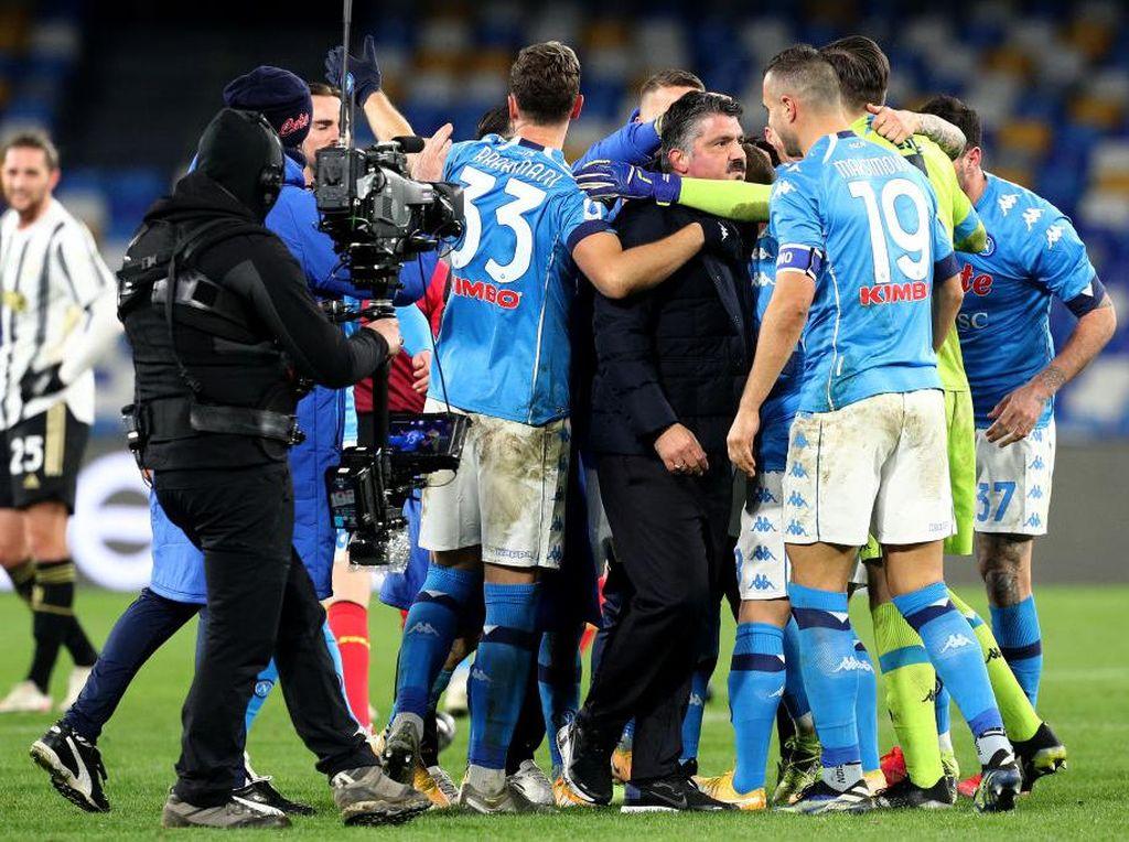 Bawa Napoli Kalahkan Juventus, Gattuso Bungkam Kritik