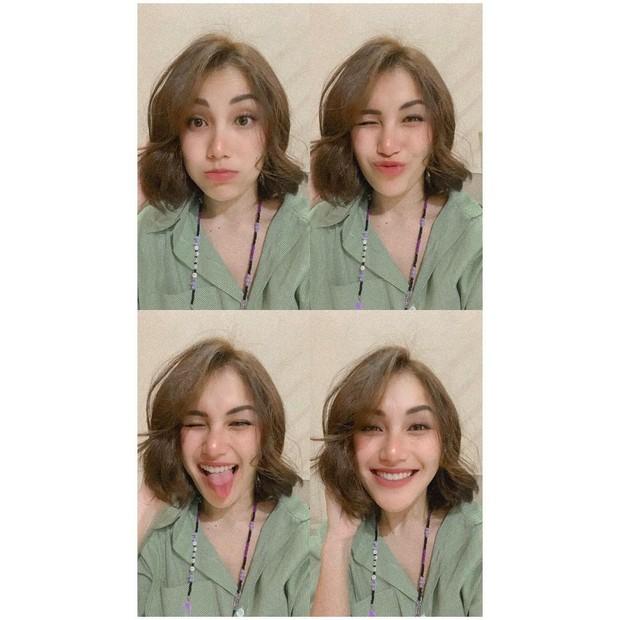 Ayu Ting-Ting tampil cantik dengan rambut pendek/instagram.com/ayutingting92