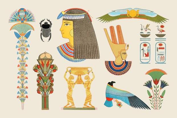 Ilustrasi masyarakat Mesir kuno