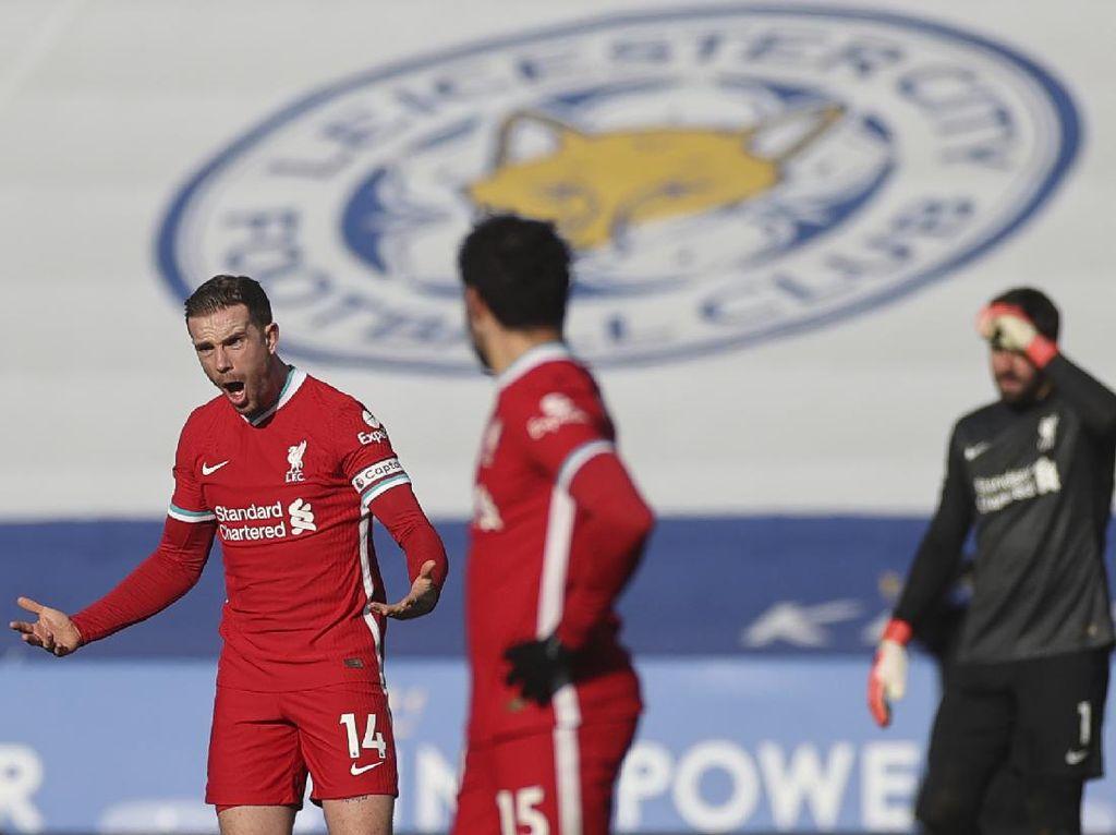 Leicester Vs Liverpool: Saat Henderson Ngamuk-ngamuk pada Thiago