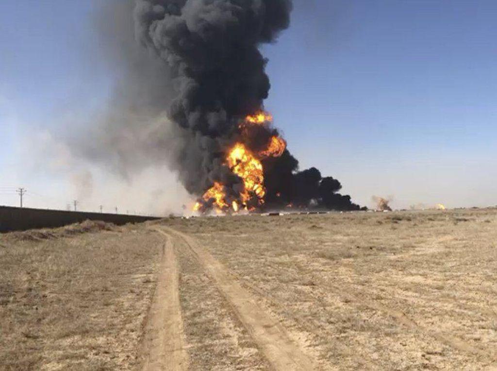 Ledakan Besar Terjadi di Perbatasan Iran-Afghanistan, Puluhan Orang Terluka