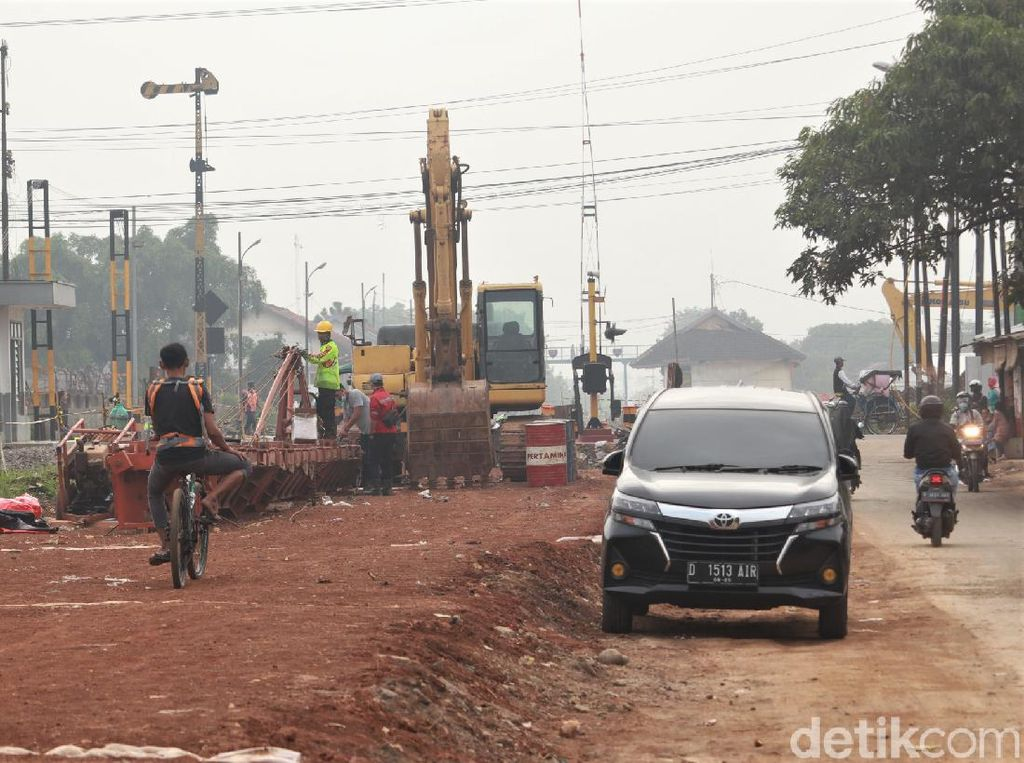 Melihat Pembangunan Jalur Rel Ganda Kiaracondong-Cicalengka
