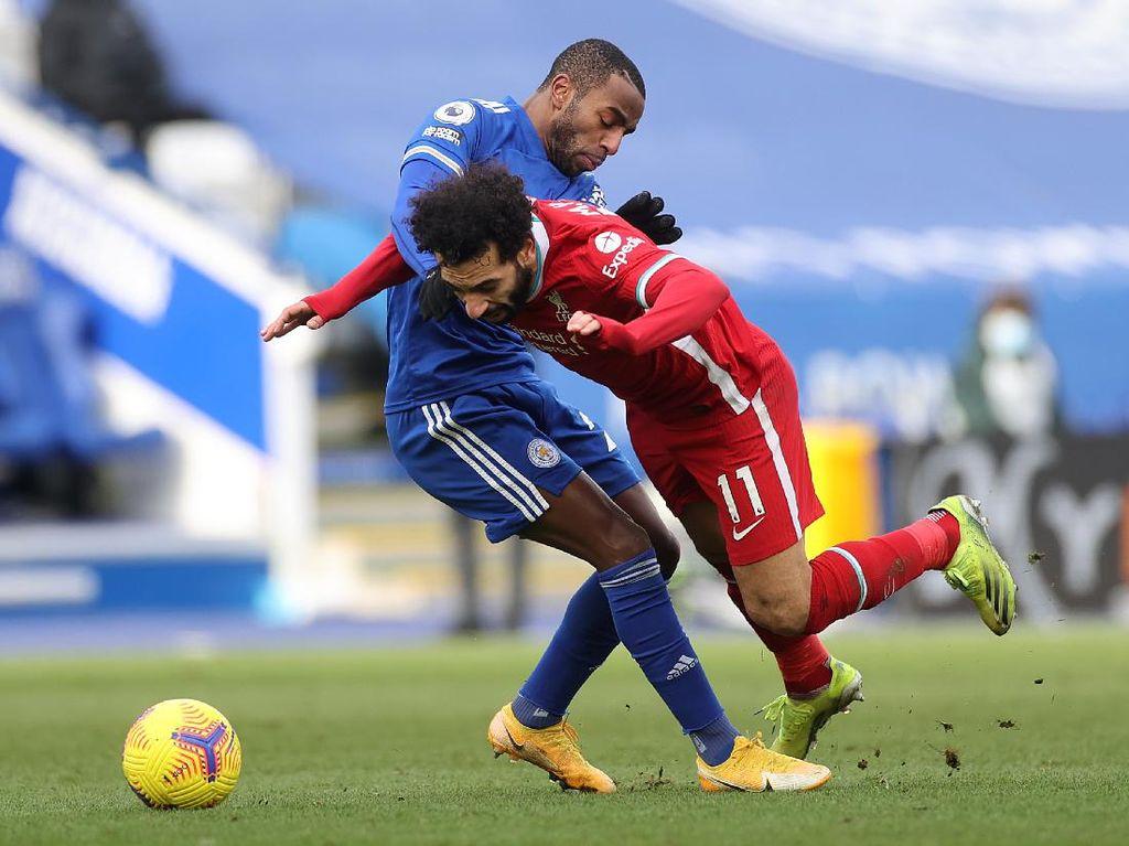 Duh, Salah Dituding Diving di Laga Leicester Vs Liverpool