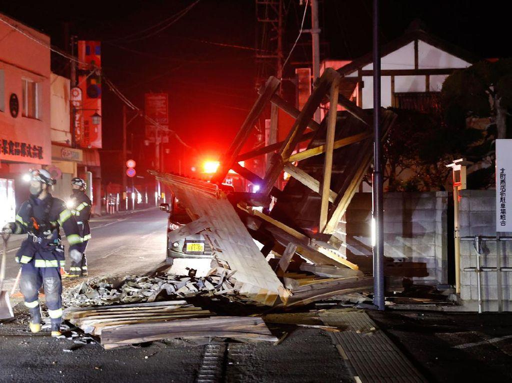 4 Fakta Gempa Fukushima Jepang Lukai Puluhan Orang