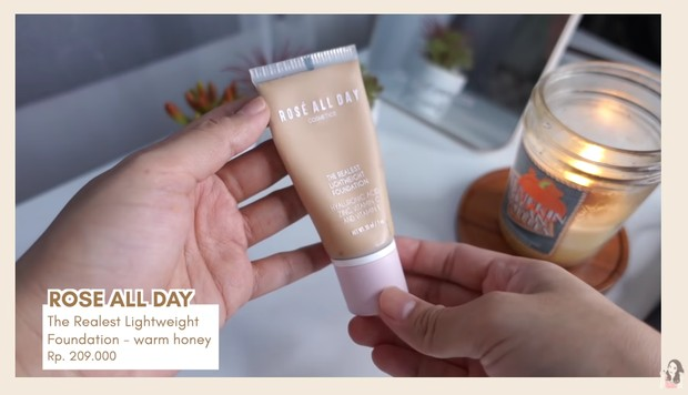 Rose All Day Foundation