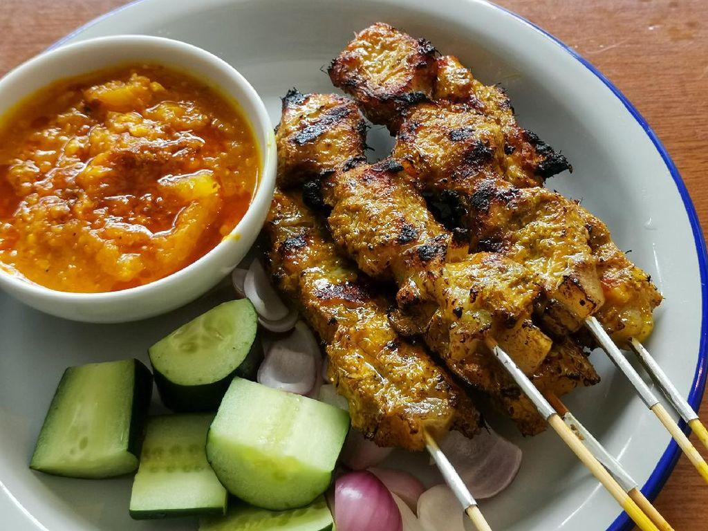 Resep Sate Ayam Bumbu Kuning yang Sedap Berempah