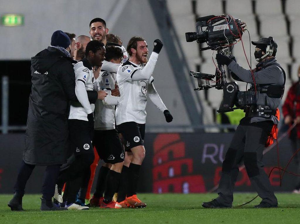 Pemain Spezia Ini Tak Sangka Bisa Bobol Gawang AC Milan