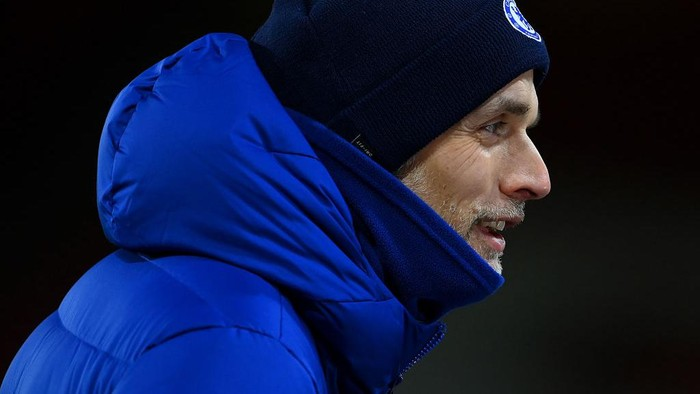 SHEFFIELD, ENGLAND - FEBRUARY 07:  Thomas Tuchel, Manager of Chelsea looks on following the Premier League match between Sheffield United and Chelsea at Bramall Lane on February 07, 2021 in Sheffield, England. Sporting stadiums around the UK remain under strict restrictions due to the Coronavirus Pandemic as Government social distancing laws prohibit fans inside venues resulting in games being played behind closed doors. (Photo by Clive Mason/Getty Images)